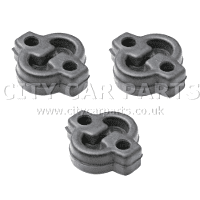 3 X Nissan Primera P12 Models 2002 To 2006 Exhaust Rubber Mount Hanger Mounting