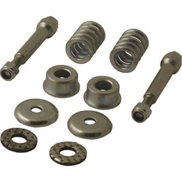 Citroen BX 1.9 Petrol / Diesel Exhaust Front Down Pipe Bolts Springs Fitting Kit.