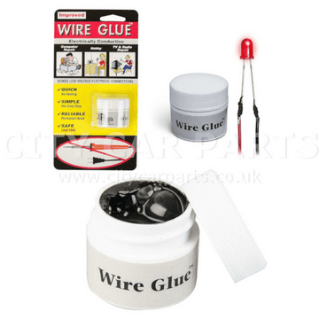 Conductive Wire Glue/Paint NO Soldering Iron/Gun Solder WIRE GLUE