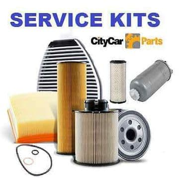 FORD FIESTA 1.6 TDCi DIESEL 2004 TO 08 OIL AIR FUEL & CABIN FILTER SERVICE KIT