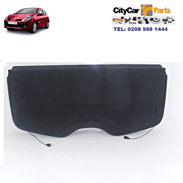 GENUINE RENAULT CLIO MK3 MODELS 2005 TO 09 TAILGATE BOOT COVER PARCEL SHELF