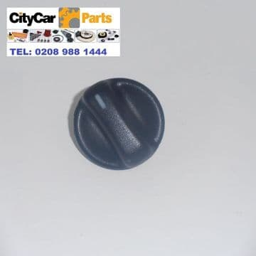 GENUINE ROVER 45 MODELS FROM 2000 TO 2005 HEATER FAN KNOB WITH METAL CLIP