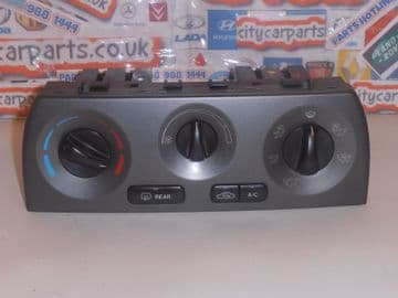 JAGUAR X TYPE HEATER AIR CONDITIONING CONTROL PANEL MODULE 1X4F19D840BD