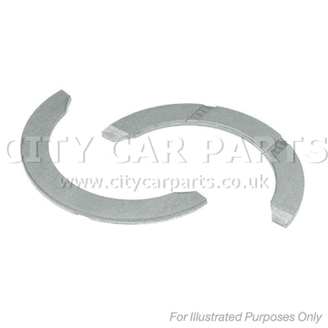 MERCEDES-BENZ E-CLASS SALOON 320 CDI MODELS TO 2002 TO 2009 THRUST WASHER, CRANKSHAFT 0.10 MM