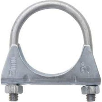 Mitsubishi Bedford Mid- Section and Rear Exhaust Clamp 48mm Single Exhaust Clamp EMC048S