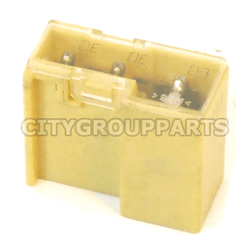 NISSAN MICRA K12 NOTE E11 RADIATOR FAN MULTI PURPOSE YELLOW FUSE LINK  60-30-30 AMP
