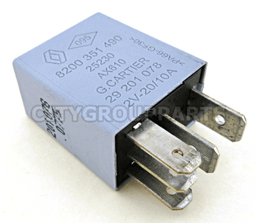 Renault Nissan Multi Purpose Use Silver Relay 8200351490 25230-AX610 G. Cartier