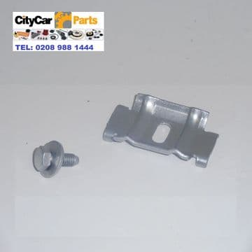 SAAB 93 9-3 MODELS 1998 TO 2003 COVERTIBLE HATCHBACK BATTERY CLAMP & BOLT