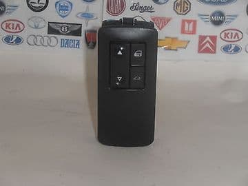 VAUXHALL VECTRA C SIGNUM 2002 TO 09 FRONT PASSENGER SIDE WINDOW SWITCH 09185958