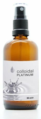 Colloidal Platinum for heart health, mental focus, concentration, memory and for male and female libido
