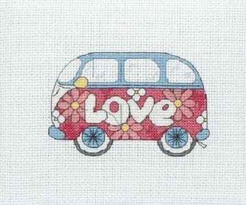Anchor Camper Van Cross Stitch Kit - PCE210