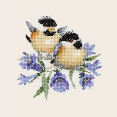 Bluebell Chick-Chat by Valerie Pfeiffer Cross Stitch Kit