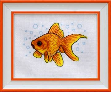 Goldfish Cross Stitch Kit