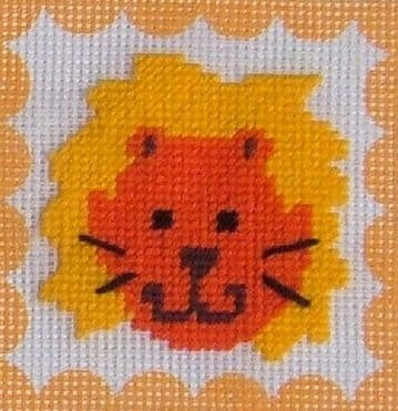 Lion Tapestry Kit by Daisy Designs from Derwent water Designs.