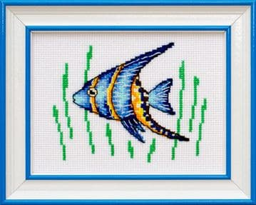 Little Fish Cross Stitch Kit