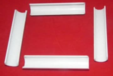 "Pack of 4 clips for 6"" and 9"" R&R frames"
