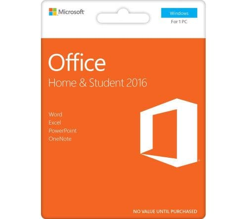 Microsoft Office 2016 Home and Student  PC - Download -