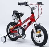 "ROYAL BABY FREE STYLE SPACE RED KIDS BIKE12"",14"",16"",18"" + STABILISERS+WATER BOTTLE AND HOLDER"