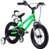 "ROYAL BABY KIDS CHILDREN BMX FREE STYLE 12""-18"" GREEN"