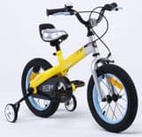 "ROYAL BABY KIDS CHILDREN BUTTON MATT YELLOW BMX STYLE KIDS BIKE 12""-16"""