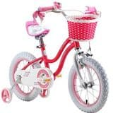 "ROYAL BABY KIDS CHILDREN GIRLS ROSY STAR GIRL STYLE BIKE 12""-16"""