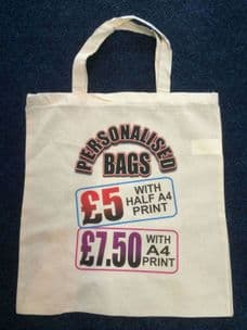 Bag with A4 size design