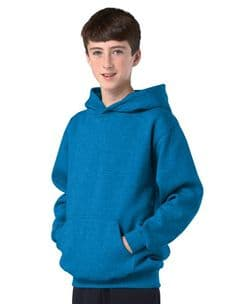 Children's Electric Blue Hoodie Design Your Own from