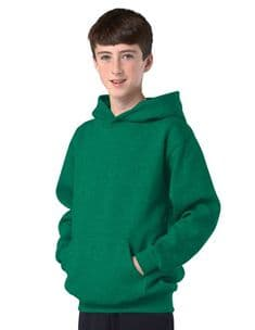 Children's Kelly Green Hoodie Design Your Own from