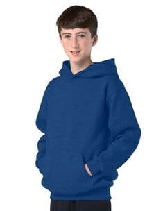 Children's Royal Blue Hoodie Design Your Own from