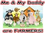 Me and my dad farmers