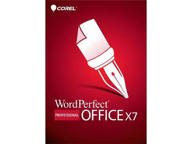 Corel WordPerfect Office X7 Pro - non commercial use -