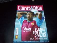 Claret & Blue, 2004/05 Issue 9