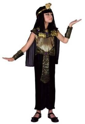 Girls Queen of the Nile Costume - Black & Gold