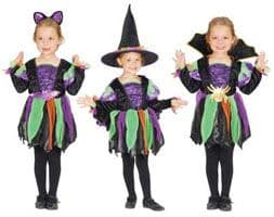 Spider/Witch/Bat Costume - Toddlers Halloween Costume