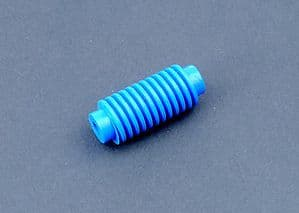 10 x 10mm Dia x 30mm 4mm Bore Plastic Worm for Cog Wheels Gears pinion rack. S7088