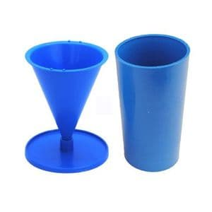 Candle Mould Set x 2, 1 x Cone Mould & 1 x Pillar Candle Mould. S7686