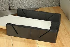 Linic UK Made 1 x Mega Mitre Block Box 45 60 & 90 degree 180 x 60mm x 320mm. W7083