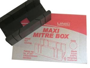 Linic UK Made 10 x Maxi Mitre Box in Display Box. UK Made. MB1510
