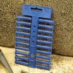 Linic UK Made Fixing Masonry Plastic Wall Plugs, 10mm x 100 (5 Strips of 20). S7659