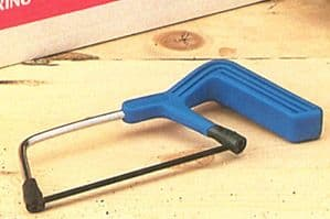 Linic UK Made Mini Hacksaw with 150mm Blade. Woodworking, Modelling. M0271