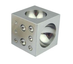 Solid Steel Doming Dapping Block, 2