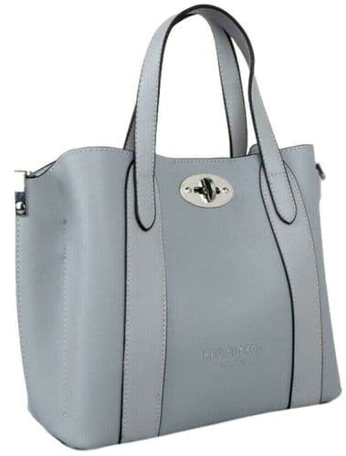 Red cuckoo Grey Tote Ladies Top Handle Grab Bag Slouchy Shoulder Bag Handbag