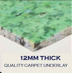 Carpet Underlay - 12mm