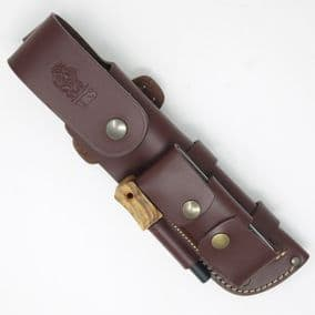 New TBS Leather Full Cover Knife Sheath with DC4 & Firessteel Attachment