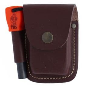 TBS Firelighting Kit with Leather Pouch - Fatboy Firesteel