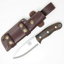 TBS Grizzly Bushcraft Survival Knife - Turkish Walnut