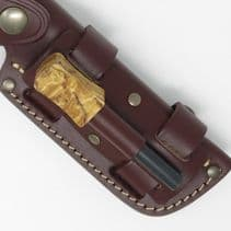 TBS Leather Firesteel Holder Attachment for the TBS Sheath